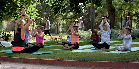 SHP: NGV Kids on Tour 2021 - Family Meditation with Little Warriors Yoga tickets