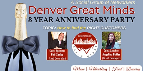 Denver Great Minds Party tickets