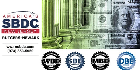 NJ State Certifications & Private Contracting Webinar / RNSBDC tickets