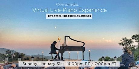 MindTravel Virtual Live-Piano Journey tickets