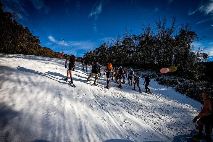 Wim Hof Method Snowy Mountains Winter Expedition image