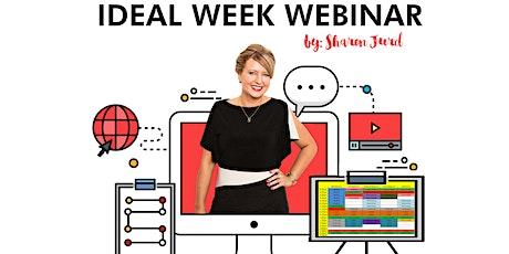 Ideal Week Webinar tickets