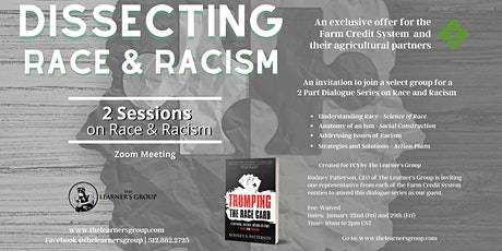 Dissecting Race and Racism - 2 Sessions tickets