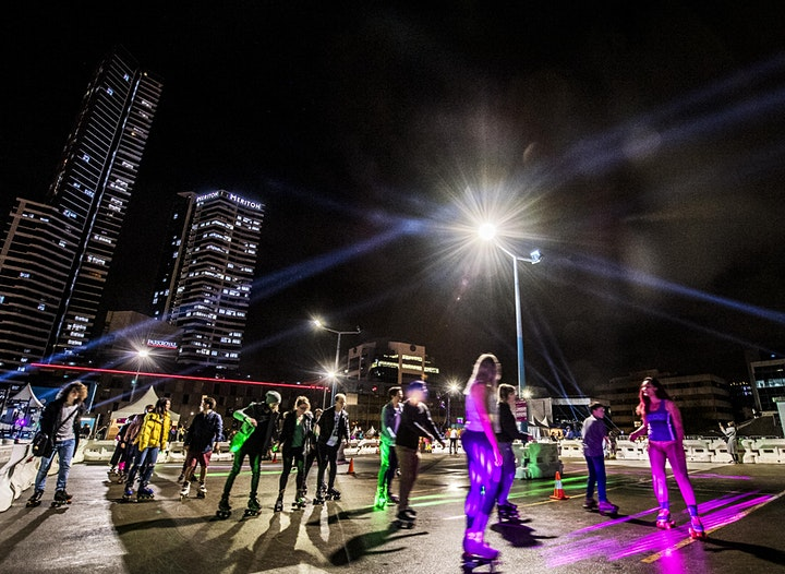 The Rooftop Hangout 2021 - Roller Rink Disco! 14th - 24th January 2021 image