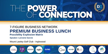 District32 Connect Premium Business Lunch - Thu 28th Jan tickets