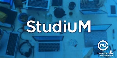 Utiliser les fonctions d'évaluation dans StudiUM billets