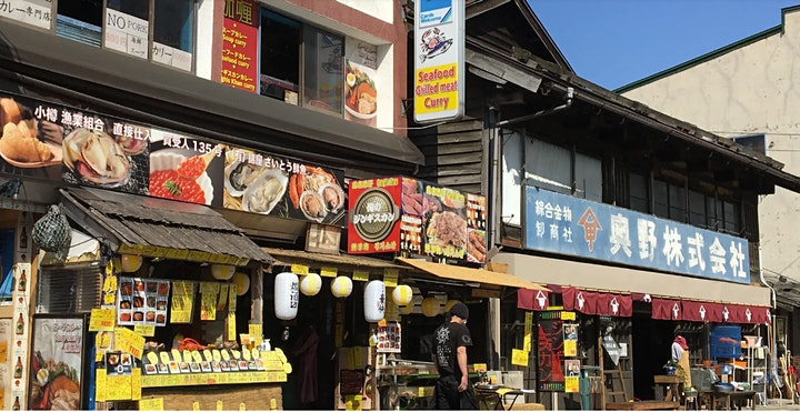 Japan - Virtual Shopping & Famous Canal visit at Otaru image