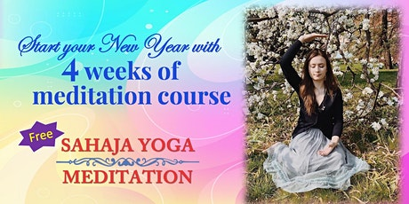 Start your new year with 4 -week  Meditation course tickets