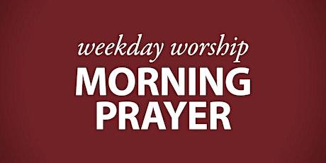 Weekday Morning Prayer tickets