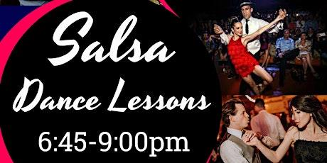 Salsa Dance Lessons & Social tickets