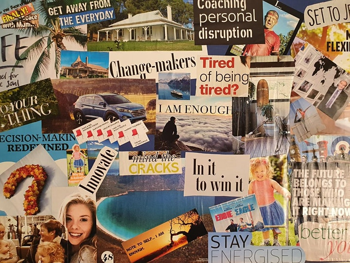 Vision Board & Goal Setting Workshop image
