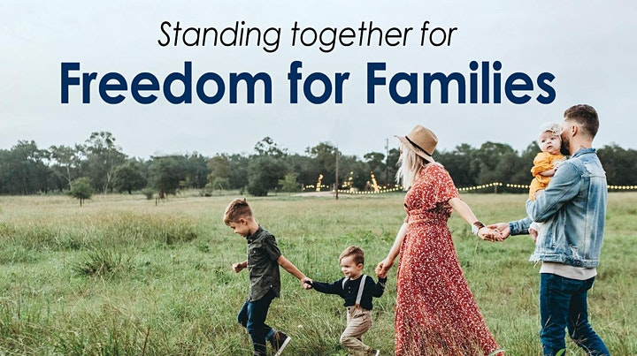 Freedom For Families Rally (Online) image