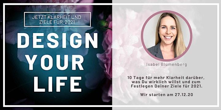 DESIGN YOUR LIFE  •  ONLINE: Bild