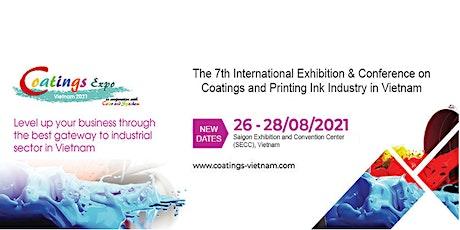 Coatings Expo Vietnam 2021 tickets