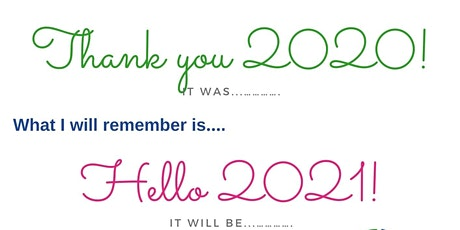 Thank you 2020 & Hello 2021! tickets