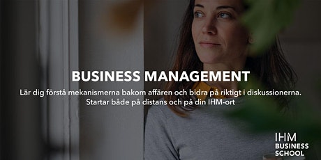 Prova på Business Management Online biljetter
