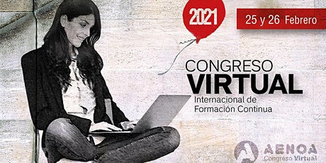 Congreso VIRTUAL de Formación Continua boletos