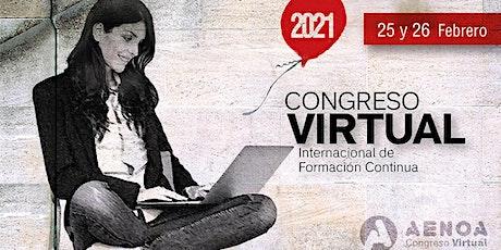 Congreso VIRTUAL de Formación Continua entradas