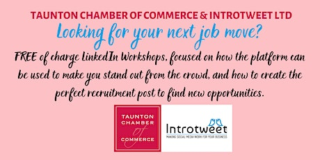 LinkedIn Workshop for Job Seekers with Social Media experts Introtweet Ltd tickets