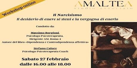 Il Narcisismo: il desiderio di essere sé stessi e la vergogna di esserlo biglietti