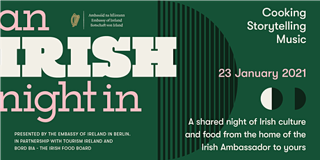 An Irish Night In: A shared experience of Irish culture at home Tickets