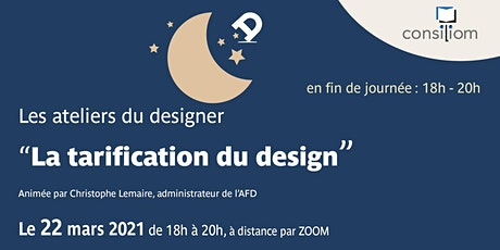 Tarification du design billets