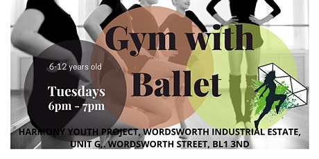 Gym with Ballet for Kids - Bolton BL13ND tickets