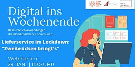 """Lieferservice im Lockdown: """"Zweibrücken bringt's"""" Tickets"""