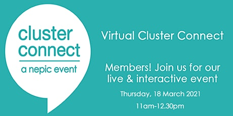 Virtual Cluster Connect- March tickets