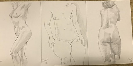 Life Drawing - 24th June 2021 tickets