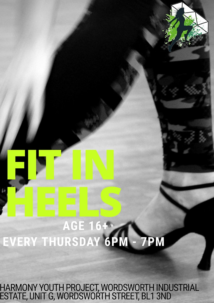 Fit in Heels - Dance Classes for Ladies aged 16+ BL13ND image