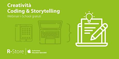 Creatività, Coding & Storytelling - Un solo webinar, 3 argomenti! biglietti