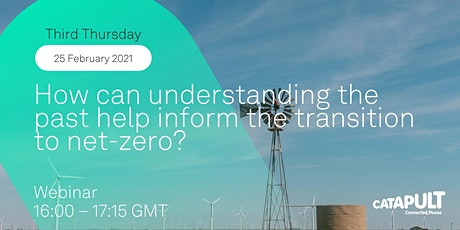 How can understanding the past help inform the transition to net-zero? tickets