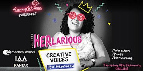 HERlarious: Creative Voices tickets