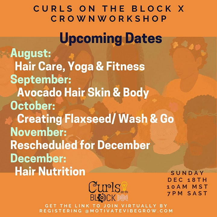 Curls on the Block x Crownworkshop: To the Roots of Beauty image