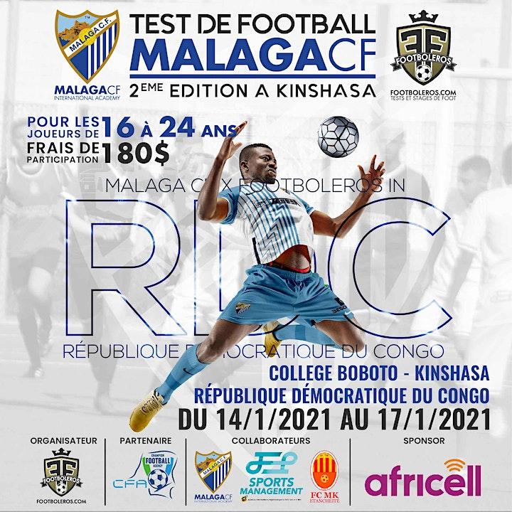 Imagen de Test de football Malaga CF - 2ème édition à Kinshasa