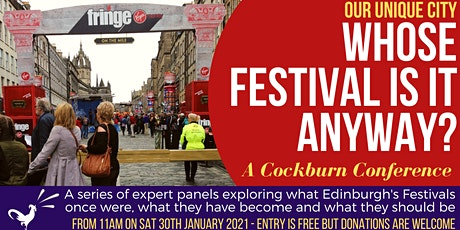 Whose Festival is it Anyway? A Cockburn Conference tickets