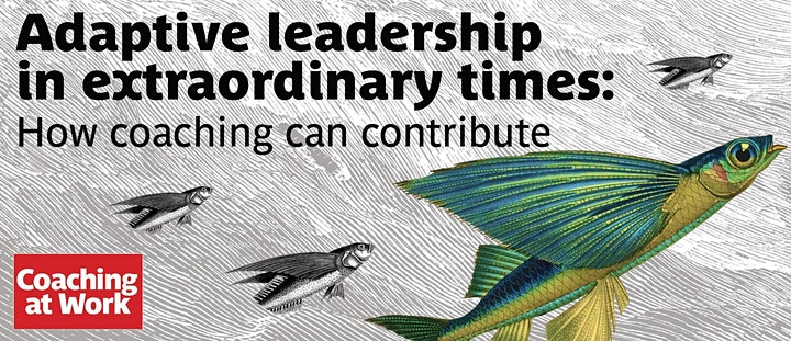 ADAPTIVE LEADERSHIP FOR EXTRAORDINARY TIMES: HOW COACHING CAN CONTRIBUTE image