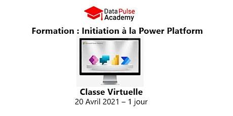 Découverte de la Power Platform - 1 jour - 20 Avril  2021 billets
