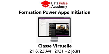 Power Apps Initiation - 2 jours - 21 & 22 Avril 2021 billets