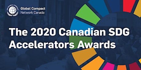 The Canadian SDG Accelerators Awards tickets