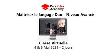 Maîtriser le langage DAX - Niveau avancé - 2 jours - 4 & 5 Mai  2021 billets