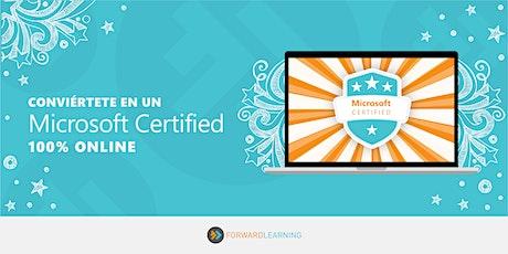 Conviértete en un Microsoft Certified boletos