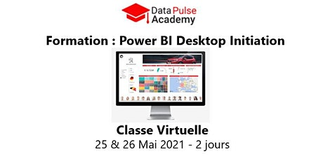 Power BI Initiation - 2 jours - 25 & 26 Mai  2021 billets