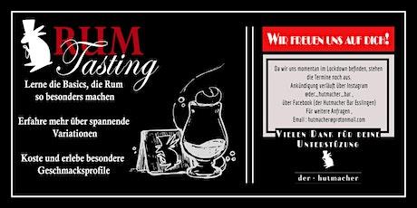 Der Hutmacher Rum Tasting Tickets