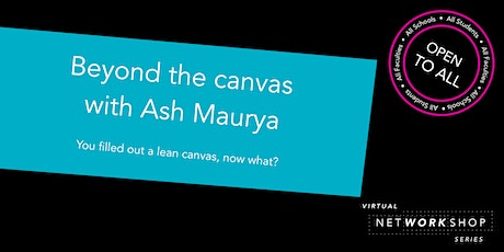 Beyond the Canvas with Ash Maurya tickets