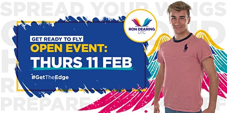 Ron Dearing UTC Feb Open Event Y10 Students tickets