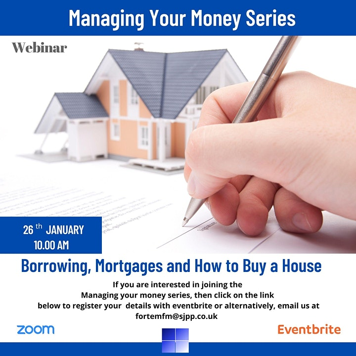 Managing Your Money - Borrowing, Mortgages and How to Buy a House image