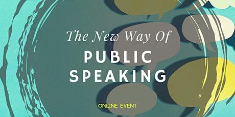 New Way of Public Speaking tickets