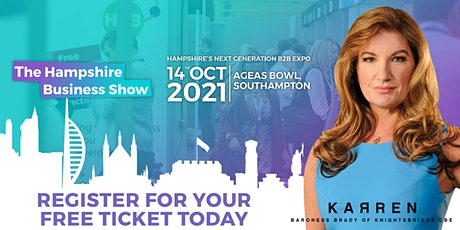 The Hampshire Business Show 2021 | Hampshire's Next Generation B2B Expo tickets